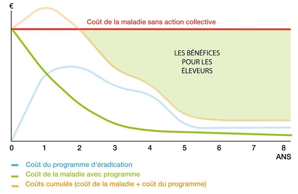 Simulation économique du programme d'éradication